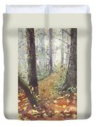 Foggy Path Duvet Cover