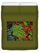 Foliage Abstract 3698 Duvet Cover