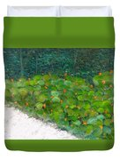 Foliage At Sanibel Duvet Cover
