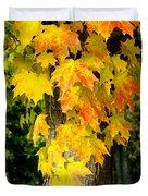 Foliage Fall Duvet Cover