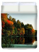 Foliage Reflections Duvet Cover
