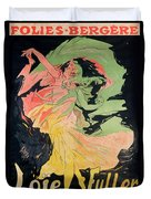 Folies Bergeres Duvet Cover