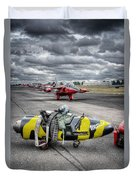 Folland Gnat  Duvet Cover