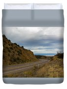 Follow The Winding Road Duvet Cover