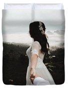 Following My Bride Duvet Cover