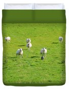 Following The Leader Duvet Cover