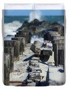 Folly Sea Wall Duvet Cover