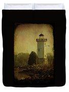 Fond Du Lac Lighthouse Duvet Cover