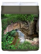 Fonferek Glen Rock Bridge And Falls Duvet Cover