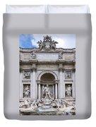 Fontana De Trevi Duvet Cover