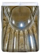 Fontevraud Abbey Chapel, Loire, France Duvet Cover