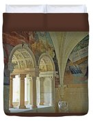 Fontevraud Abbey Refectory, Loire, France Duvet Cover