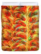 Food - Candy - Lollipops Duvet Cover