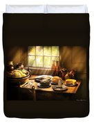 Food - Ready For Guests Duvet Cover
