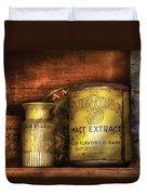 Food - Blue Ribbon Malt Extract Duvet Cover