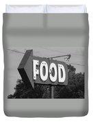 Food Duvet Cover