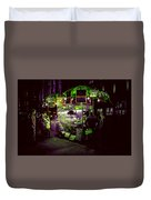 Food Stand Duvet Cover