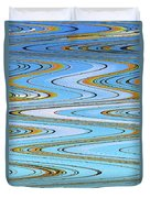 Foot Bridge Abstract Duvet Cover