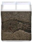 Foot Print Duvet Cover