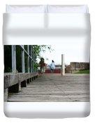 Footbridge Duvet Cover