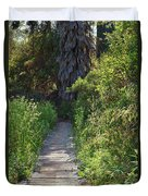 Footpath In Peters Canyon I Duvet Cover
