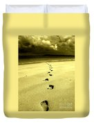 Footsteps Duvet Cover