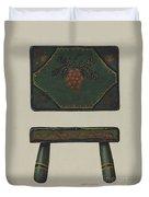 Footstool Duvet Cover