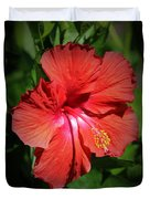 For The Love Of Hibiscus Duvet Cover