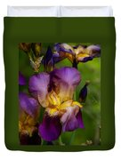 For The Love Of Iris Duvet Cover