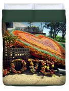 For The Love Of Succulents Duvet Cover