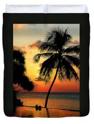 For You. Dream Comes True. Maldives Duvet Cover by Jenny Rainbow
