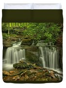 Forbes State Forest Twin Falls Duvet Cover