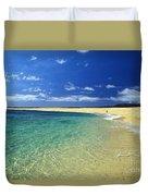 Forbidden Island Duvet Cover