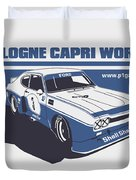 Ford Cologne Capri Works Duvet Cover