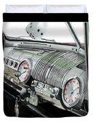 Ford Dash Duvet Cover
