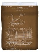 Ford Engine Lubricant Cooling Attachment Patent Drawing 1a Duvet Cover