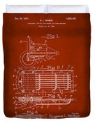 Ford Engine Lubricant Cooling Attachment Patent Drawing 1g Duvet Cover