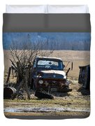Ford F-600 Duvet Cover
