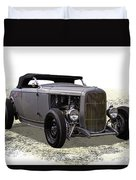 Ford Hot Rod Roadster Duvet Cover