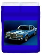 Ford Lincoln Versailles 1981 - American Dream Cars Catus 1 No. 2 H B Duvet Cover