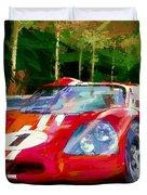 Ford Mark Four Duvet Cover