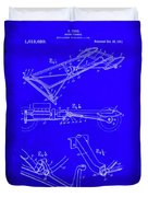 Ford Motor Vehicle Drawing 1d Duvet Cover