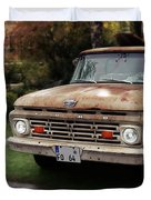 Ford Pickup, Ford 1964 Duvet Cover