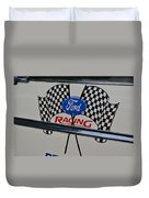 Ford Racing Emblem Duvet Cover