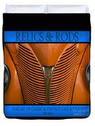 Ford 14 - Relics And Rods Duvet Cover