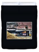 Ford Rouge Plant Steelmill Duvet Cover