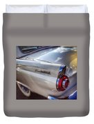 Ford Thunderbird Fender Color  Duvet Cover