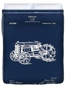 Ford Tractor Patent 1919 Duvet Cover