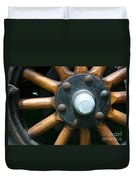 Ford Wagon Wheel Duvet Cover
