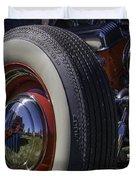 Ford Whitewall Duvet Cover